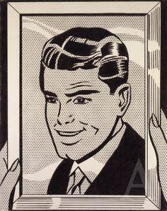 Roy Lichtenstein Him, 1964
