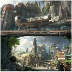 Star Wars-themed lands are coming to Walt Disney World and Disneyland Resorts! Ambitious plans to bring Star Wars to life in Disneyland Park in California and Disney's Hollywood Studios in Florida include creating Disney's largest single-themed land expansions ever at 14-acres each.