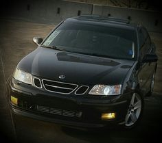 '06 Saab 9-3ss 2.0T w/Xenon Headlamps & HID Yellow Foglamps