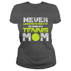 TENNIS MOM, Order HERE ==> https://www.sunfrog.com/Sports/TENNIS-MOM-114157875-Dark-Grey-Ladies.html?53624 #xmasgifts #christmasgifts #birthdayparty #birthdaygifts