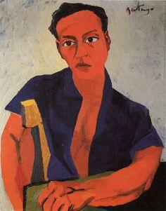 Renato Guttuso, Self-Portrait, 1943