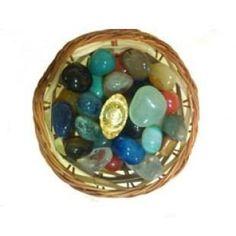 Feng Shui Wealth Basket With Brass Coin & Ingot at #Maharishi #Gems #Jewellery & #Jyotish #Kendra