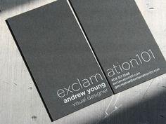 Visitenkarten Design