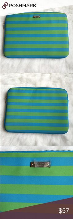 Katespade laptop sleeve This Katespade laptop sleeve is for a MacBook and MacBook Pro 13 inch laptop. It has a foam feeling. 💕BRAND NEW NEVER USED💕 🚫LOW BALL OFFERS GET BLOCKED🚫 kate spade Accessories Laptop Cases