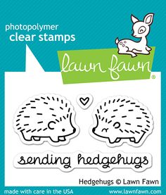 Lawn+Fawn+-+Clear+Acrylic+Stamps+-+Hedgehugs+at+Scrapbook.com