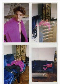 Niels Schneider Purple Fashion 2015/2016