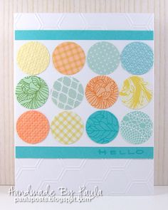 Handmade By Paula: A Painterly Palette - Tuesday Trigger Challenge