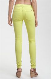 Joe's Skinny Stretch Lime Denim