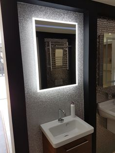 HIB Globe 50 LED Mirror. HIB's best selling mirror of all time