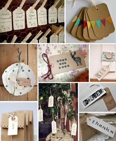 Luggage tag inspiration for your wedding day
