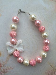 A personal favorite from my Etsy shop https://www.etsy.com/listing/483852965/chunky-bubblegum-necklace-chunky