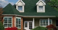 Roofing Roundup: 7 of Today's Most Popular Choices Best Vinyl Siding, Cleaning Vinyl Siding, Sauna Design, Roof Design, Landscape Drainage, Yard Drainage, Roof Colors, House Color Schemes, Bob Vila
