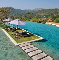 Check out the view at the Veranda Chiang Mai Resort & Spa.