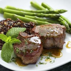 Lamb Chops with Mint Sauce