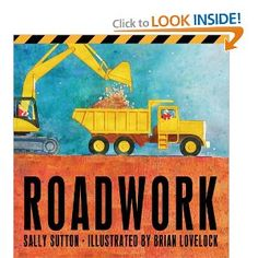 Perfect book for any construction loving boy :)