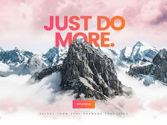 Check Out This Brand New Slider Revolution Template Mountain Parallax Header Https