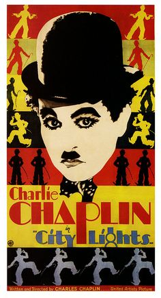 Charlie Chaplin in City Lights, 1931.