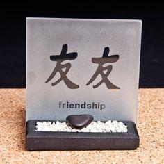 "Teelicht Zengarten ""Friendship"" Feng Shui, Zen, Bottle Opener, Friendship, Wall, Shopping, Hang In There, Garten, Key Bottle Opener"