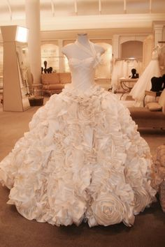 This is my absolute dream dress. Costs $29,000 but it's beautiful