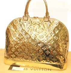 Gold miroir alma mm by louis vuitton i want it now for Louis vuitton miroir replica