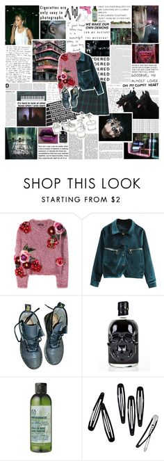 """i want your high love and emotion endlessly"" by nevi ❤ liked on Polyvore featuring Vans, Dolan, Dolce&Gabbana, Dr. Martens, Again, Yamaha, The Body Shop and H&M"