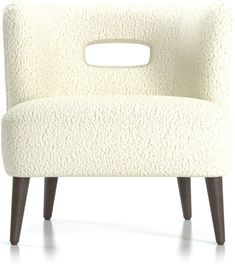 Solo, Mimi grabs attention in modern living spaces, amping up the impact when presented as a pair. The Mimi Vegan Lambskin Chair is a Crate and Barrel exclusive. Unique Furniture, Custom Furniture, Southwest Bedroom, Barrel Chair, Living Room Remodel, Mid Century Style, Upholstered Furniture, White Fabrics, Sofa Chair