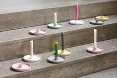New Interior Collection.  Mix and match the colors of candles and holders for a personal touch. Candlelight holder in ceramic. 5 colors.  Available in stores from 10 March 2016. #grenehome See all the news: www.sostrenegrene.com