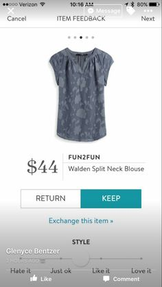 I love Stitch Fix! A personalized styling service and it's amazing!! Simply fill out a style profile with sizing and preferences. Then your very own stylist selects 5 pieces to send to you to try out at home. Keep what you love and return what you don't. Only a $20 fee which is also applied to anything you keep. Plus, if you keep all 5 pieces you get 25% off! Free shipping both ways. Schedule your first fix using the link below! #stitchfix @stitchfix. Stitchfix Spring 2017. Stitchfix Summer…