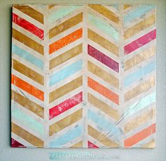Easy DIY Canvas Art for Your Home - Reliable Remodeler