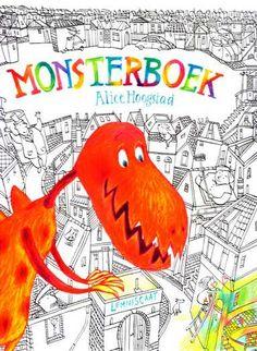 Monsterboek - een meisje kleurt de stad in...