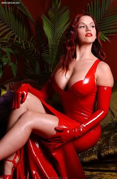House of Harlot Halter Neck Long Latex Gown, £339.00...   Now if someone bought me this I'd be a very happy woman indeed!
