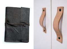 Bromeliad: 30 DIYs with leather - Fashion and home decor DIY and inspiration