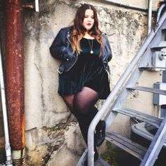 Images Of Plus Size Models Plus Size Grunge, Plus Size Goth, Look Plus Size, Plus Size Girls, Fat Fashion, Grunge Fashion, Curvy Fashion, Plus Size Fashion, Girl Fashion