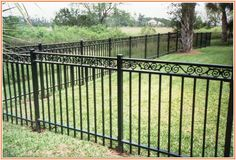 Wrought Iron Fence Home Depot. Wrought Iron Fence Home Depot. Wrought Iron Fence Parts Simple Railing Designs Suppliers Small Garden Fence, Metal Garden Fencing, Metal Fence Panels, Garden Fence Panels, Backyard Fences, Metal Fences, Garden Fences, Pool Fence, Wooden Fence