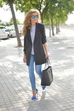 Skinny's & oversize Blazer Nautical Pullover ❌⭕