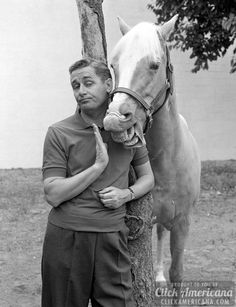 About Mister Ed, the vintage TV show with the talking horse - plus the theme song & lyrics - Click Americana 60s Tv Shows, Old Shows, Theme Tunes, Theme Song, Mister Ed, Classic Video Games, Vintage Tv, Vintage Stuff, Photos