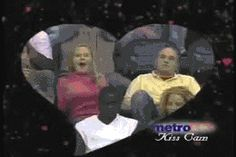 This GIF tells tale of rejection, heartbreak, anger, spite, lust, surprise, more anger and break up. All on kiss cam...
