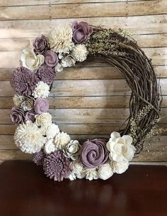Dyi Crafts, Wreath Crafts, Diy Wreath, Flower Crafts, Grapevine Wreath, Decor Crafts, Wreath Making, J Craft, Craft Fairs