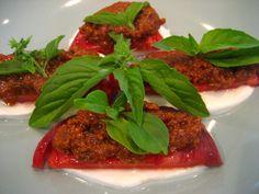 Sun-Dried Tomato Caprese