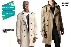 Wardrobe Essentials Guys Need: trench jacket!