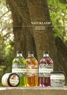Bio cosmetics   Naturland by Barbara Bernat, via Behance