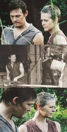 Daryl Dixon & Carol, The Walking Dead