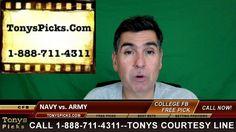 Army Black Knights vs. Navy Midshipmen Free NCAA College Football Picks ...