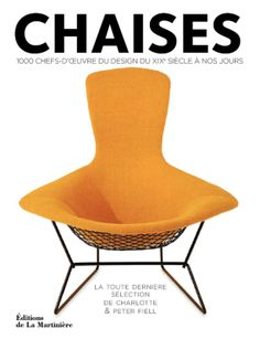 Les nouveautés déco de mars 2014 : livre Histoire de chaises | Décormag