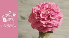 Как сделать садовую розу из фоамирана - YouTube