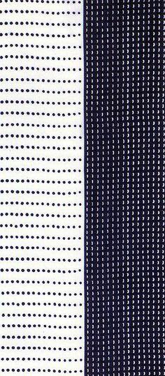 yes and no black and whitge pattern (Univers Mininga)