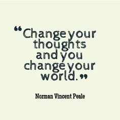 Inspiring Words of Wisdom - Change Your Thoughts #WorldofGood #Earthbrands #Ad