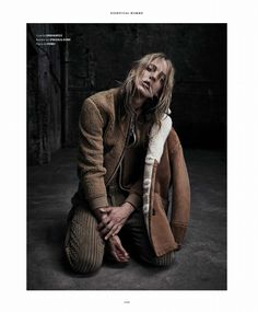 Erik Andersson para Essential Homme Noviembre 2015 - Male Fashion Trends