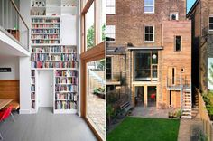 A London townhouse renovated by Kilburn Nightengale Architects.