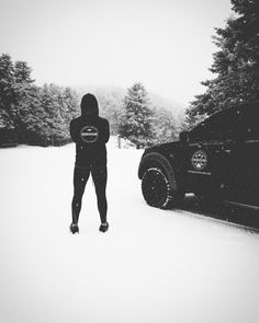 Training in the snow is always inspiring...